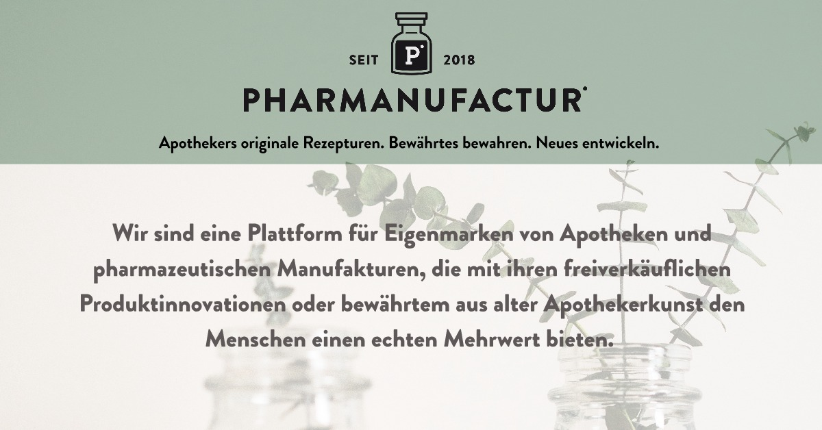 Pharmanufactur Mission Statement