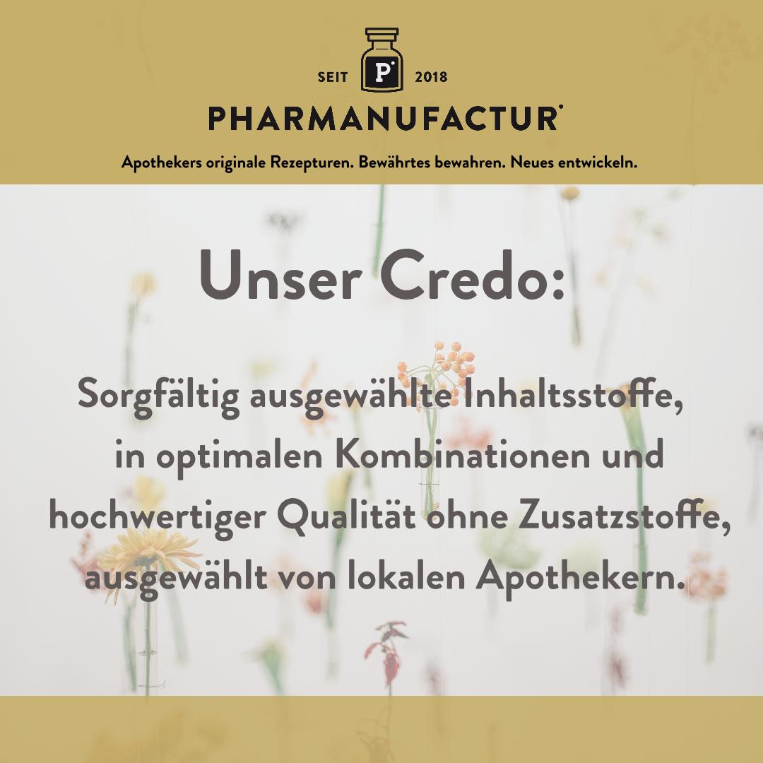 Pharmanufactur Unser Credo