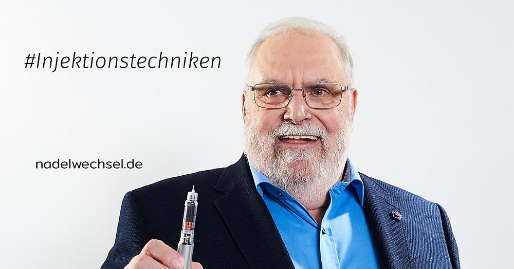 Klaus S. mit Pen-Nadel
