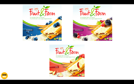 Verpackungsdesign Fruit&Form