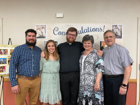 Happy Ordination Anniversary to Fr. Lewis!