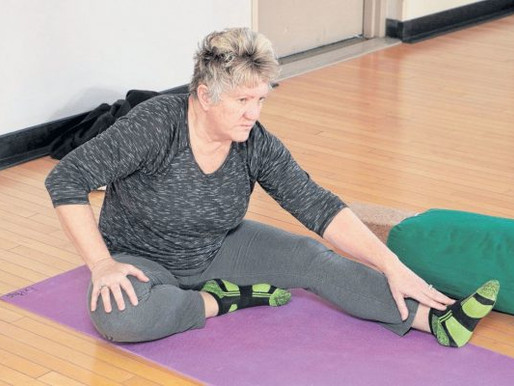 Women veterans find healing in yoga and mindfulness