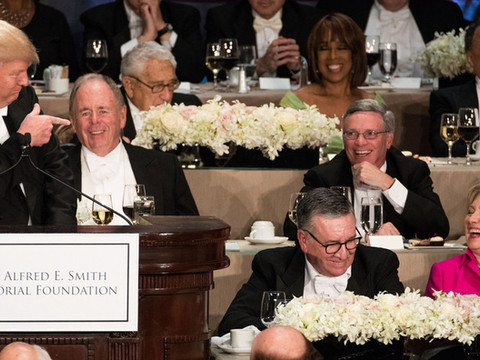 Revisiting: President Trump Roasting Crooked Hillary at the 2016 Al Smith Dinner
