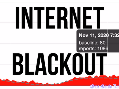 Internet Blackout of November 11th, 2020