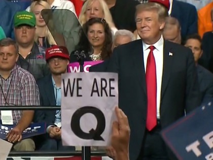 President Trump Asked To Denounce QAnon At NBC Town Hall