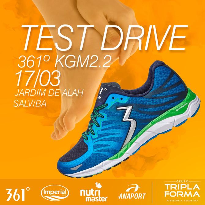 A TRIPLAFORMA REALIZA TEST DRIVE DO KGM2 DA 361º.