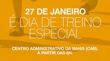 TREINO ESPECIAL DIA 27 DE JANEIRO