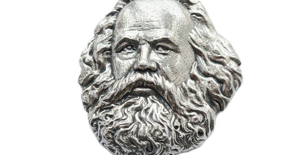 """Значок бронзовый """"Марксистская"""""""