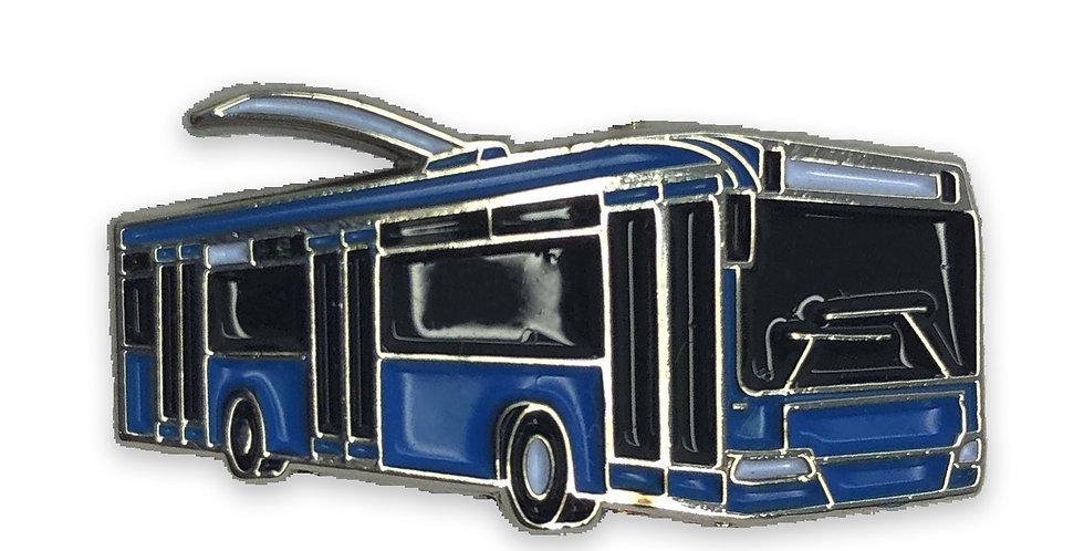 """Значок """"Троллейбус """"АКСМ-321"""""""