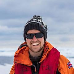 Man on polar adventure