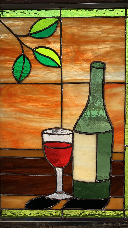 Sunset and Wine