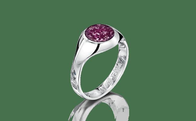 Signet Silver Purple