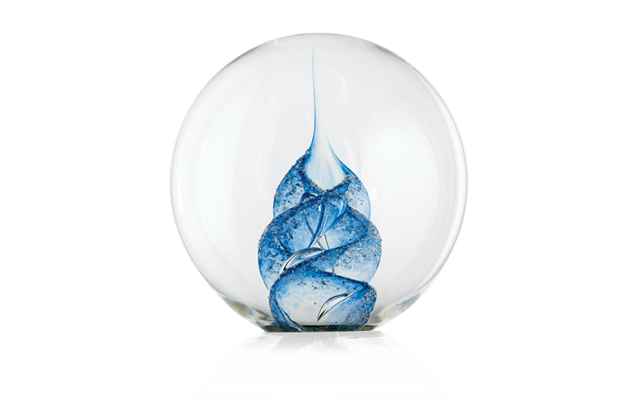 Paperweight Blue