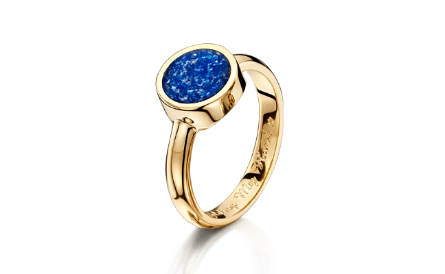 Tribute Gold Blue