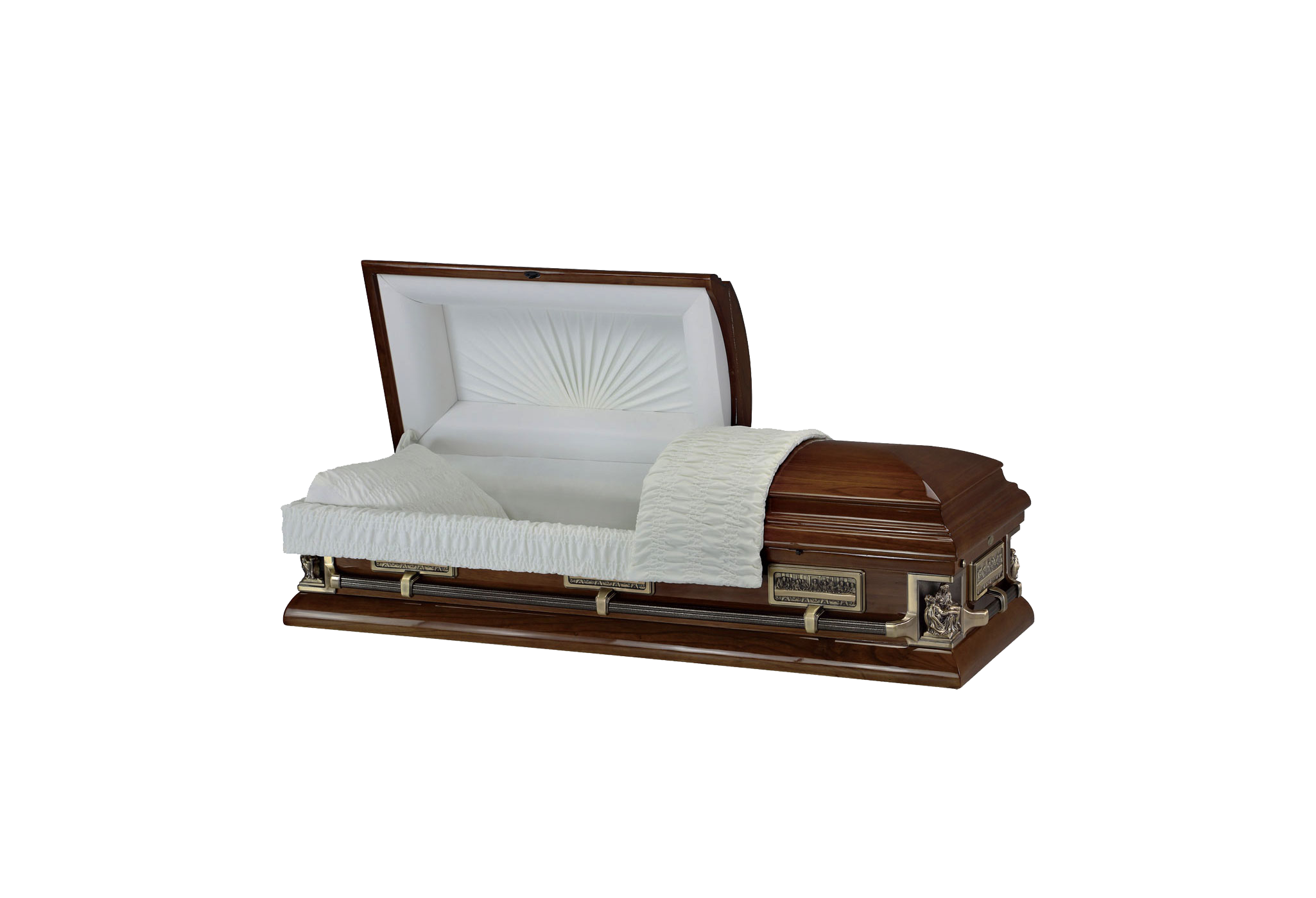 Passion of Christ Coffin
