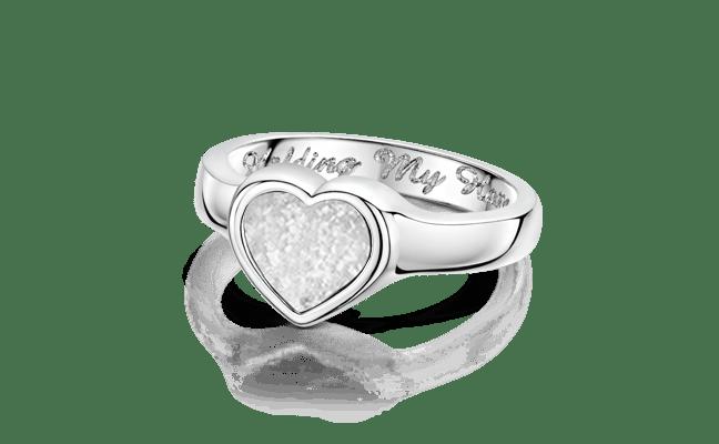 Heart Silver Clear