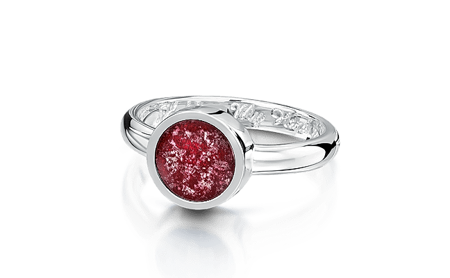 Tribute Silver Ruby