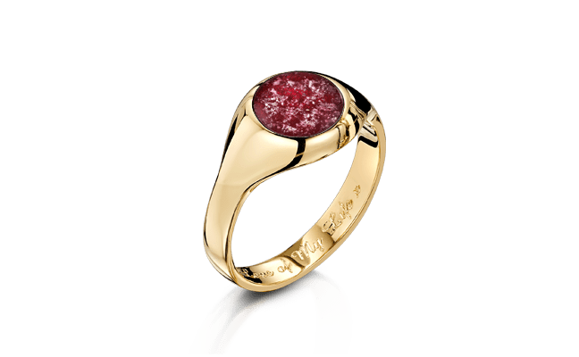 Signet Gold Ruby