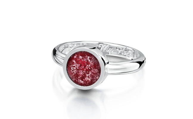 Tribute White Gold Ruby