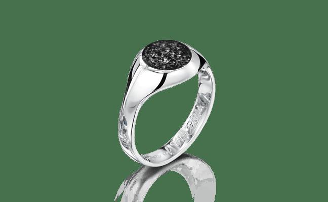 Signet Silver Black