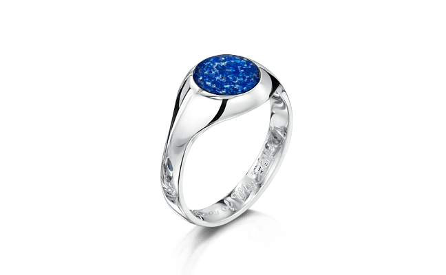 Signet Silver Blue