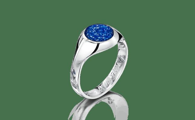 Signet Silver Blue