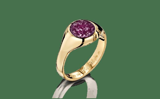 Signet Gold Purple