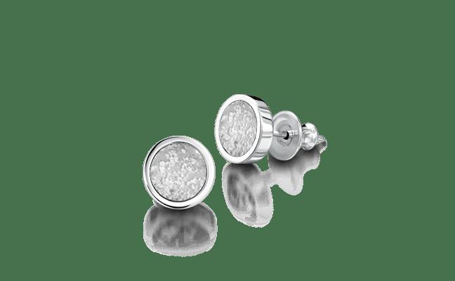 Earring Silver Clear