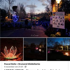 Het Normanpark baadt in het licht 🤩