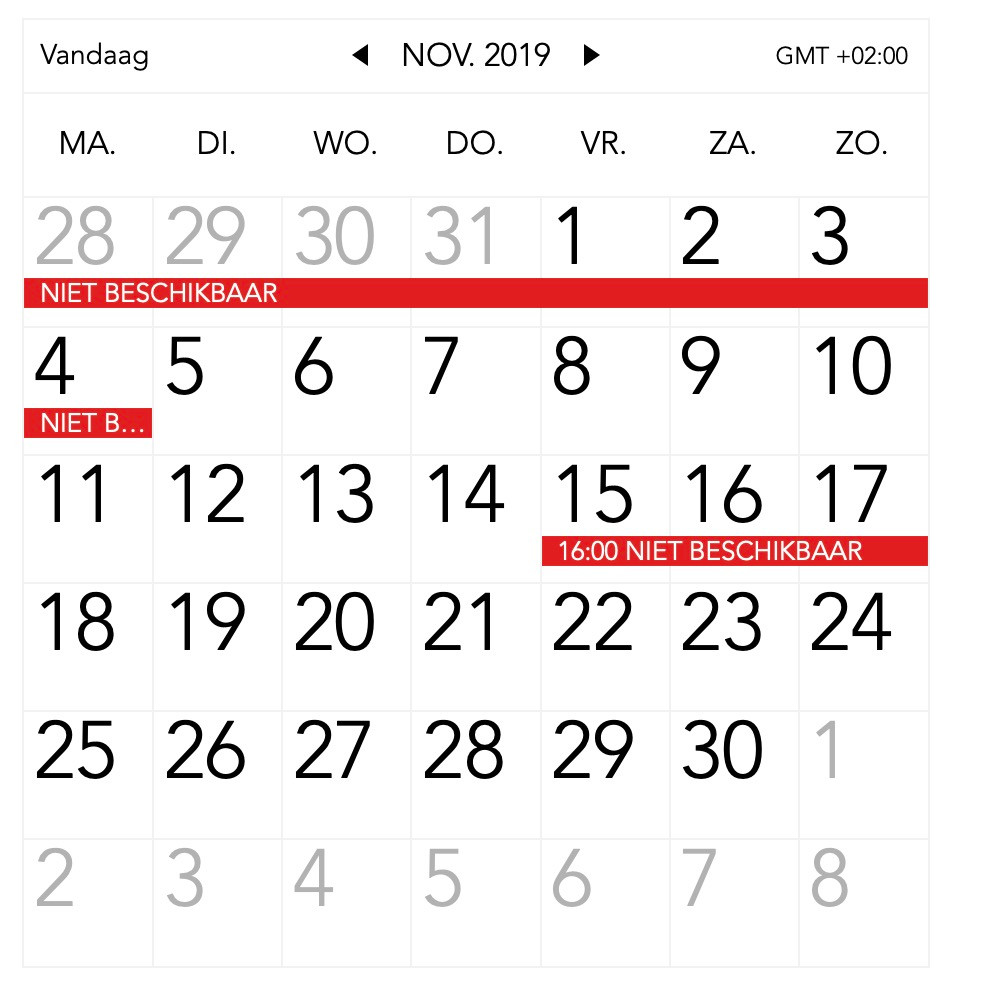 november, 2019, Middelkerke, vakantieappartement, imagine0101, frontaal zeezicht, stijlvol logeren