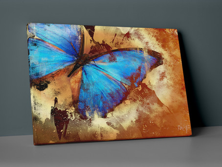 Insigne Uv Printed Canvas Art