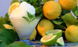 granita di limoni