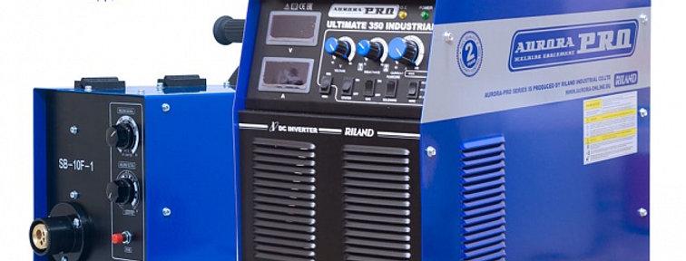 Инверторный сварочный полуавтомат AuroraPRO ULTIMATE 350 Industrial