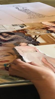 workshop design your dress mood board maken