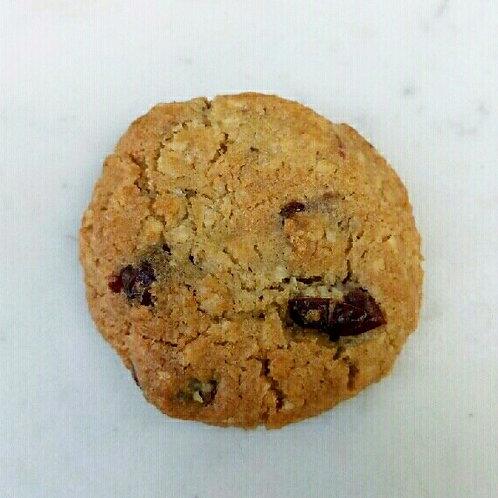 Cookie noix de coco - cranberries - chocolat blanc