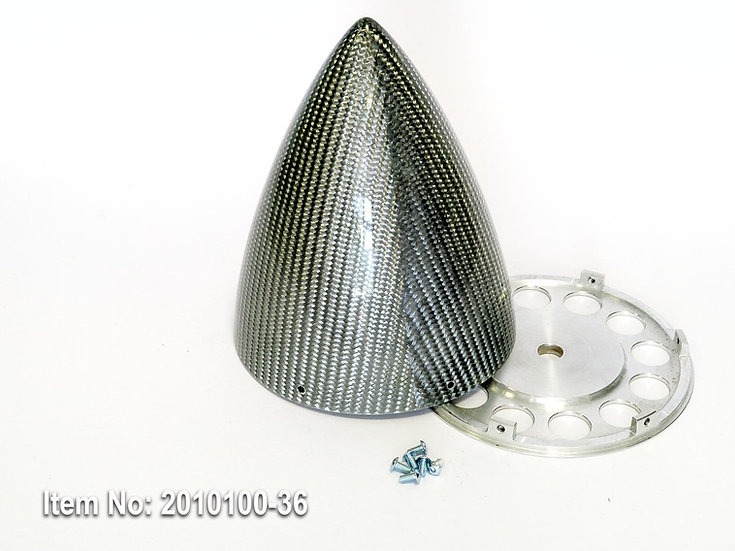 "KR spinner 125mm(5"")  ULT 6/s - Silver"