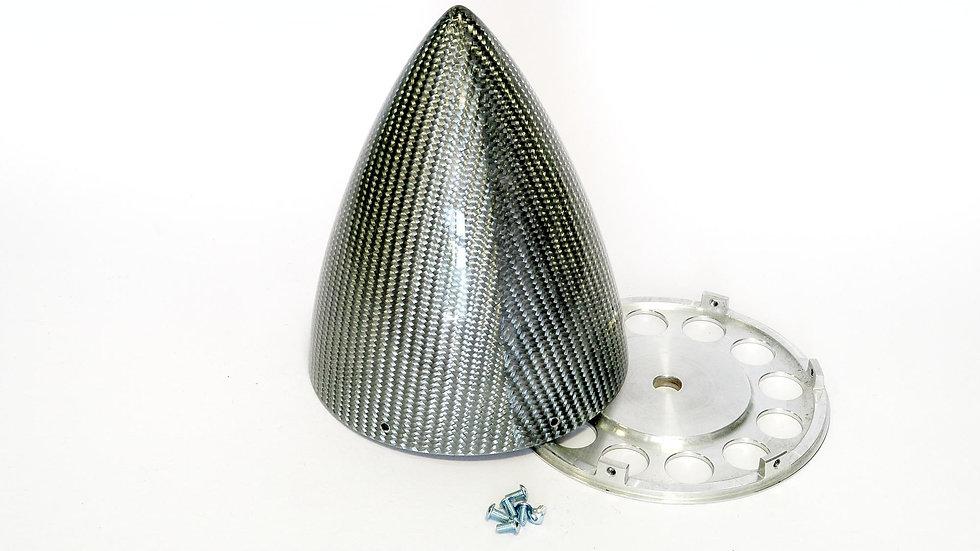KR spinner 100mm(3.95) ULT 4/s - Silver