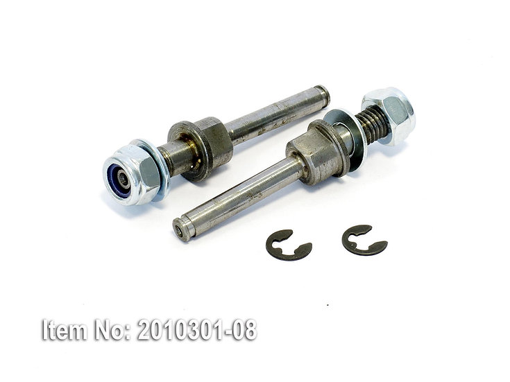 Axle set M8/dia.6mm for ALU wheels 120/130 mm