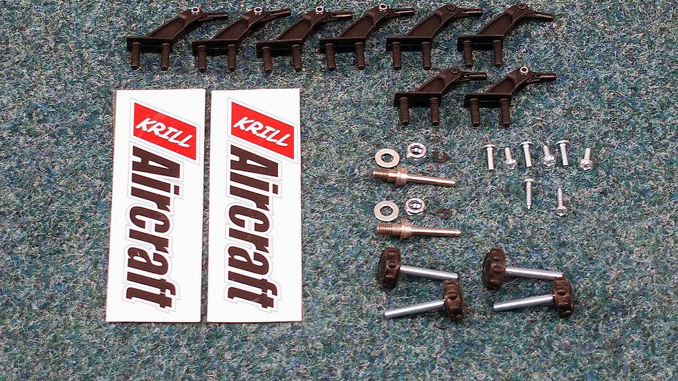 LSR38 Hardware (screws, bolds, horns …)