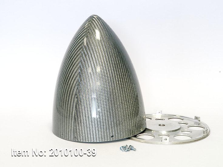 """KR spinner 150mm(6"""")  EXT 6/s - Silver"""