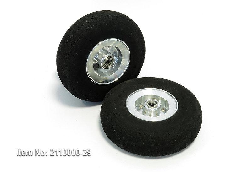 Wheel SLH 120/33mm ALU disc ball-bearing