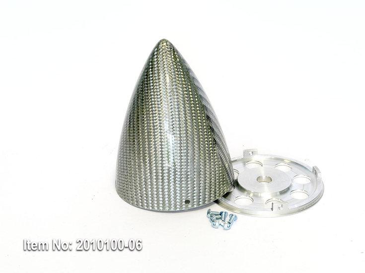 KR spinner 80mm(3.15) ULT 4/s - Silver