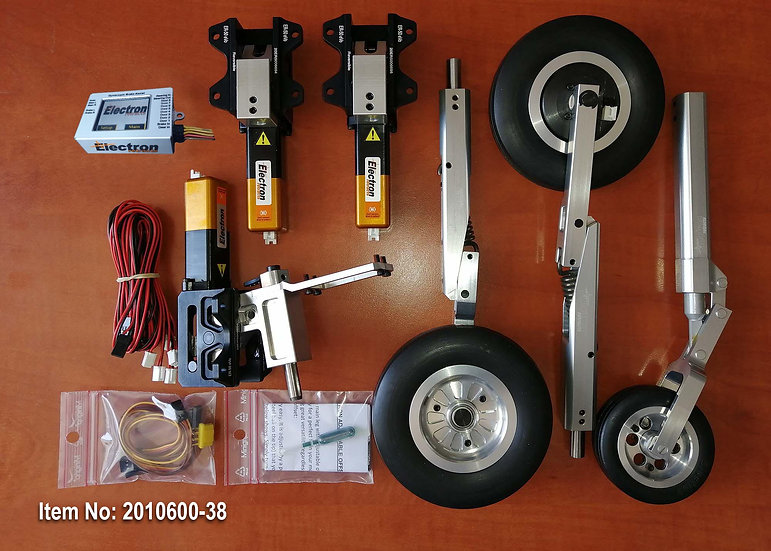 AreS  XL Electric Retract set ER50 (GS-200) + wheels + legs