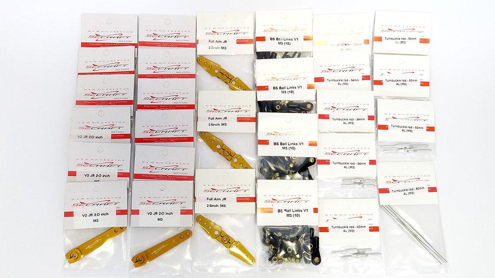 SECRAFT kit EA41 for JR servos