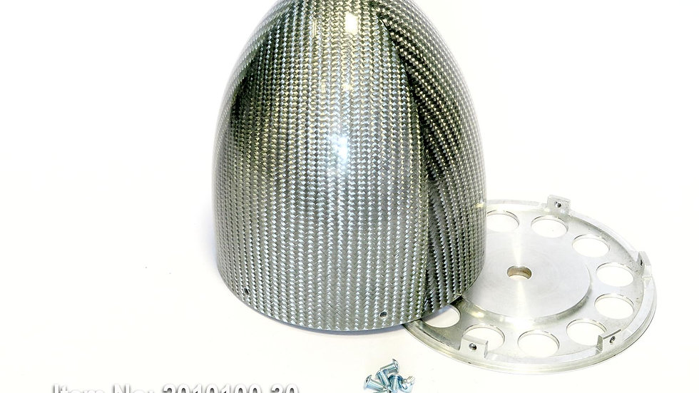 KR spinner 124mm(4.5) YAK 6/s - Silver