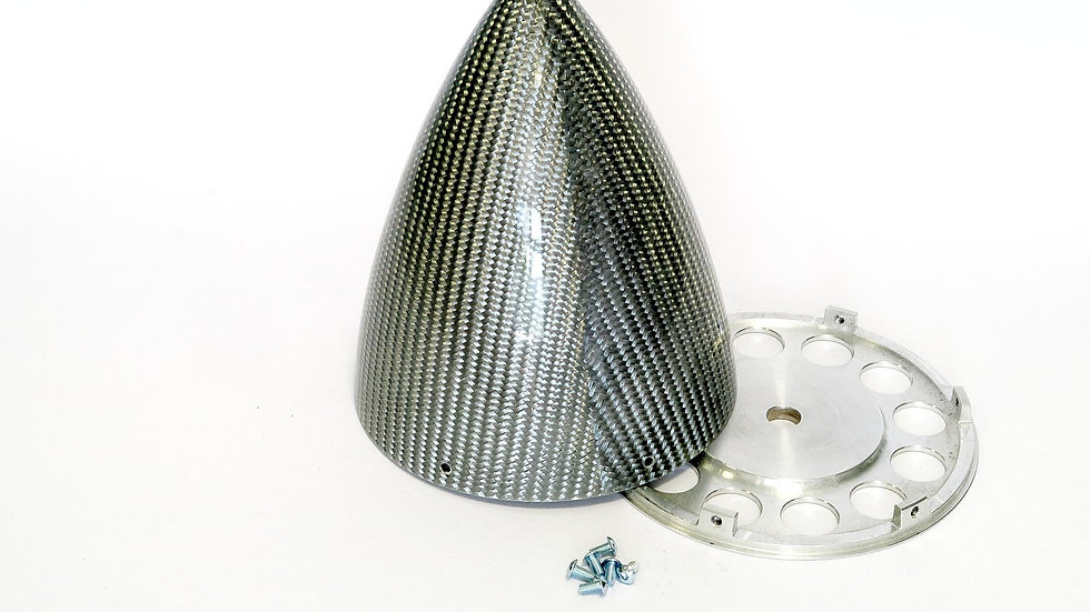 KR spinner 115mm(4.5) ULT 6/s - Silver