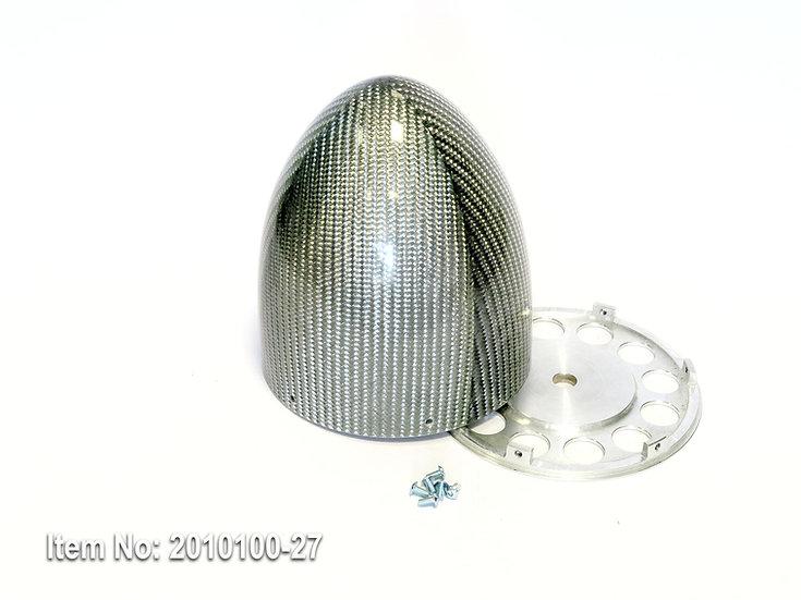 KR spinner 115mm(4.5) YAK 6/s - Silver