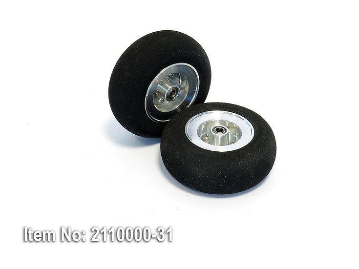 Wheel SLH 80/33mm ALU disc ball-bearing