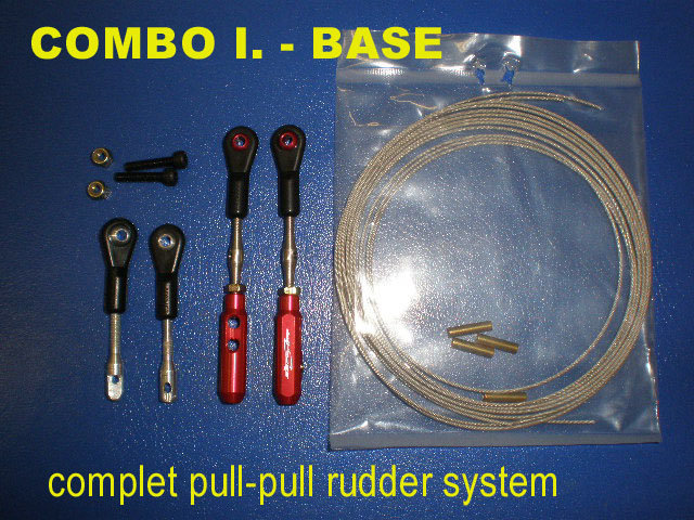 Rudder Pull-Pull set BASE
