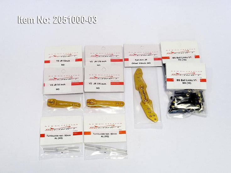 SECRAFT kit Y28 for JR servos